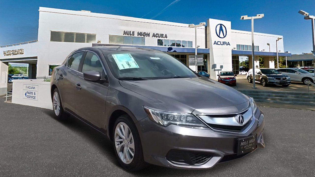 New Acura ILX Base Dr Car In Denver Mile High Acura - 2018 acura tl parts