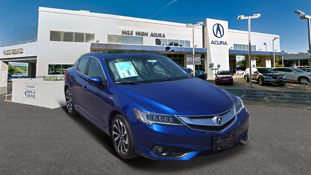 New Acura ILX With Premium And ASPEC Package Dr Car In Denver - 2018 acura tl floor mats