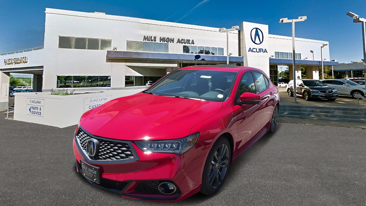 New 2019 Acura TLX 3.5 V-6 9-AT SH-AWD with A-SPEC