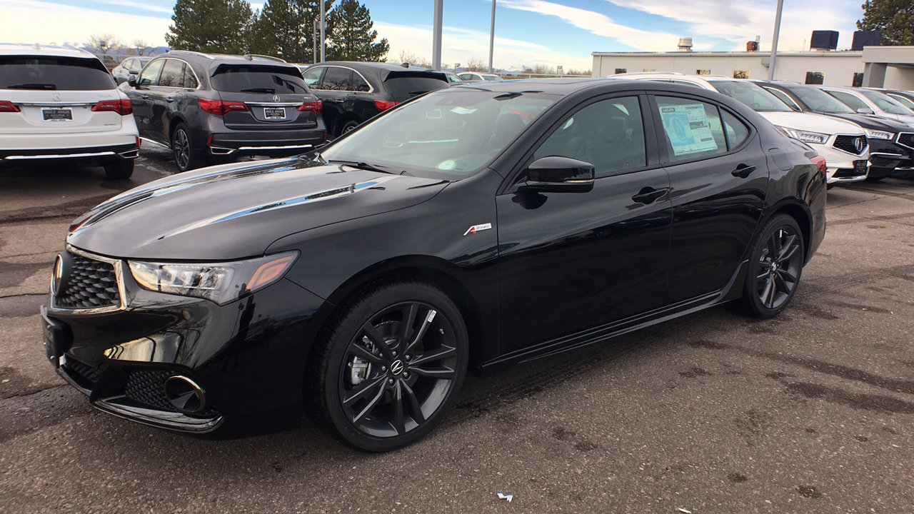 New 2018 Acura Tlx 3 5 V 6 9 At Sh Awd With A Spec 4dr Car