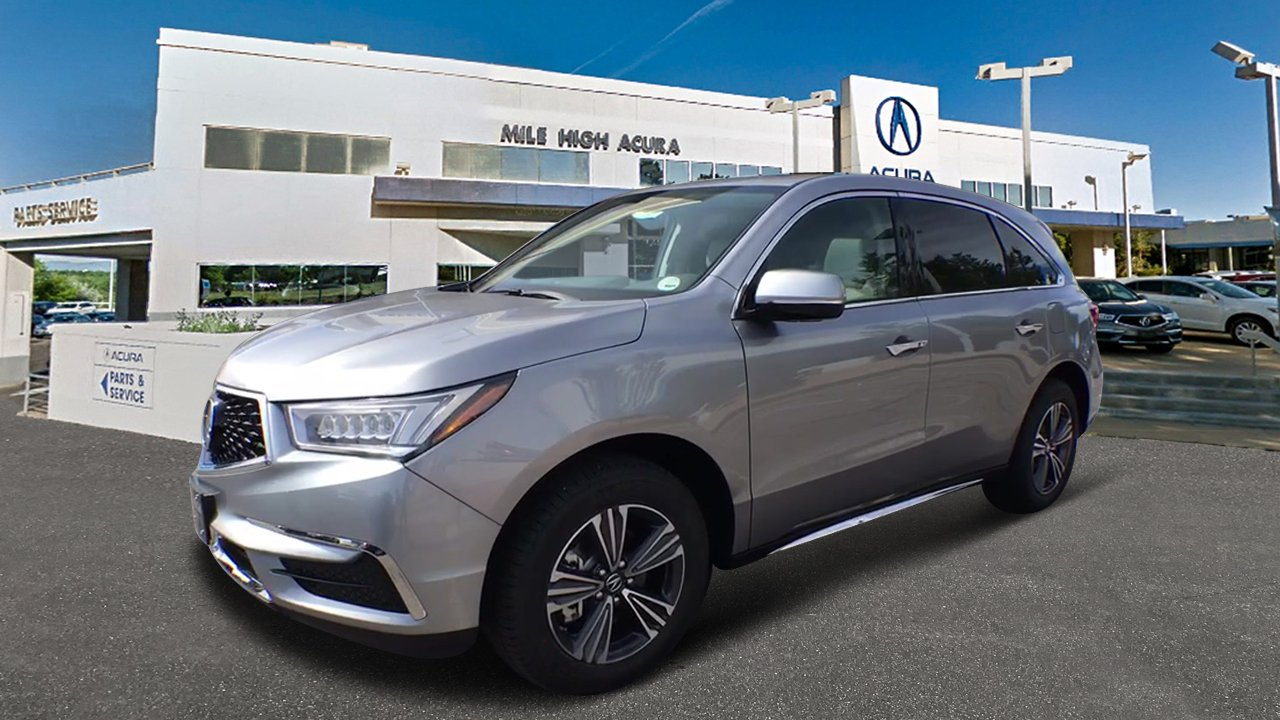 New Acura MDX SHAWD Sport Utility In Denver Mile High - Acura mdx 2018 parts