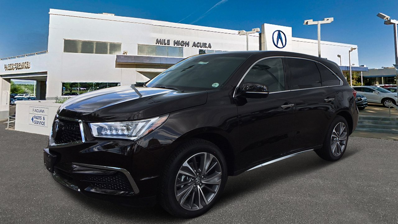 New Acura MDX SHAWD With Technology Package Sport Utility In - Www acura mdx 2018