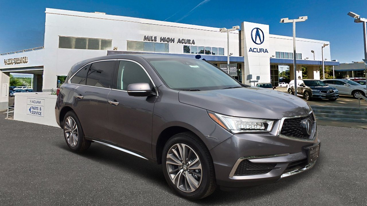 New Acura MDX SHAWD With Technology Package Sport Utility In - Acura mdx 2018 parts