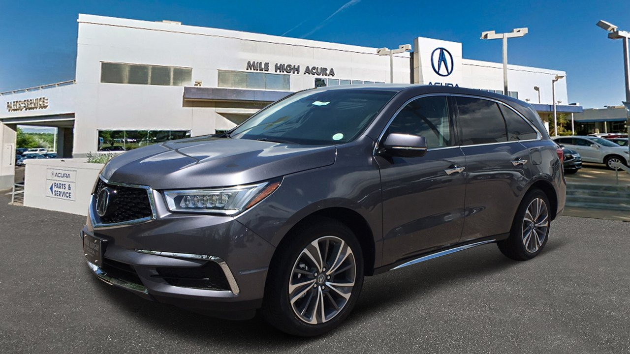 New Acura MDX SHAWD With Technology And Entertainment Packages - Acura mdx 2018 parts