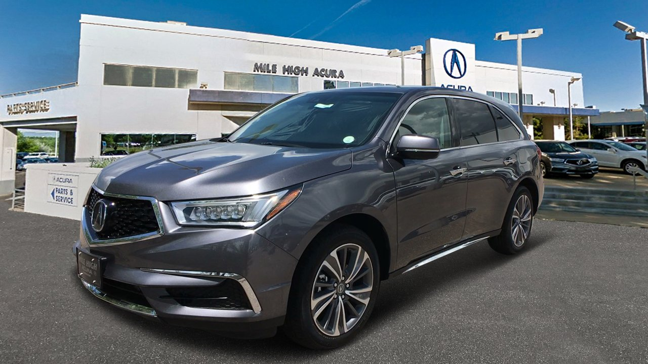 New Acura MDX SHAWD With Technology And Entertainment Packages - Www acura mdx 2018