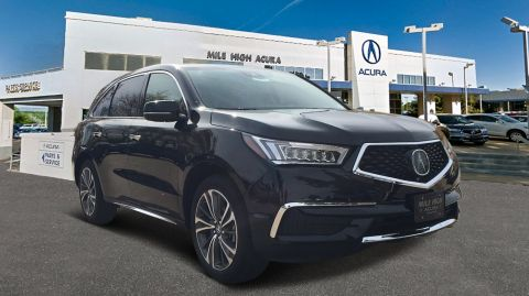 New 2019 Acura MDX AWD TECH 6P ENT