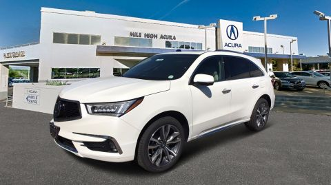 New 2019 Acura MDX AWD ADVANCE 6P
